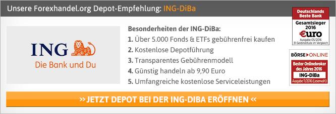 ING DiBa Depot Kosten