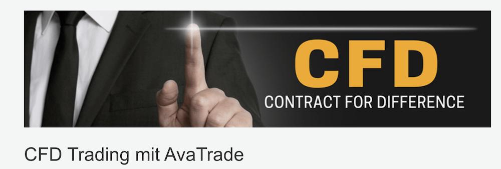 AvaTrade CFD-Handel