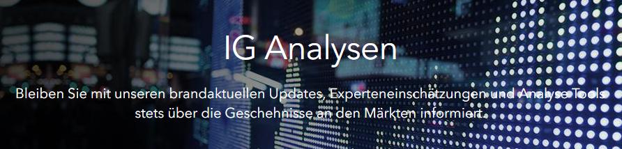 IG bietet brandaktuelle Updates
