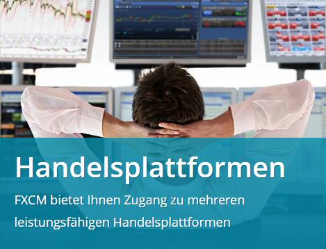 FXCM Handelsplattform Trading Station Web 2.0
