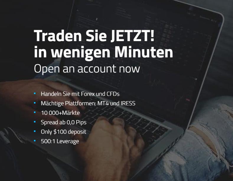 Eröffnen Sie in wenigen Minuten ein Konto bei FP Markets