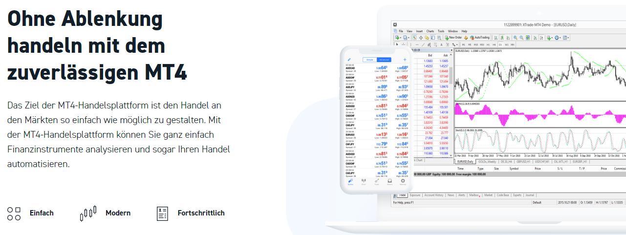 XTB MetaTrader 4 App