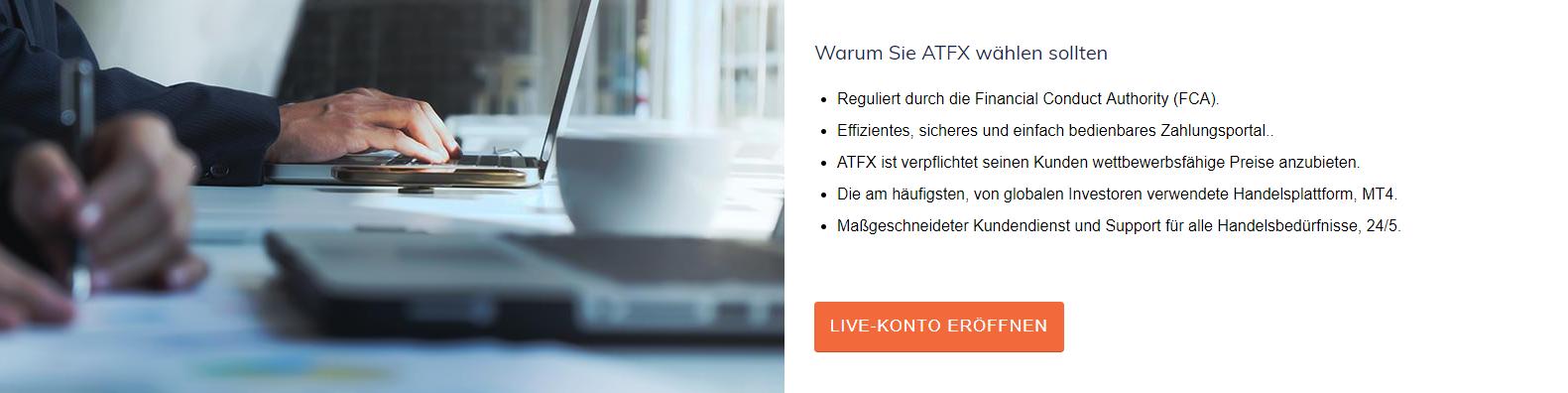 ATFX FOREX Test