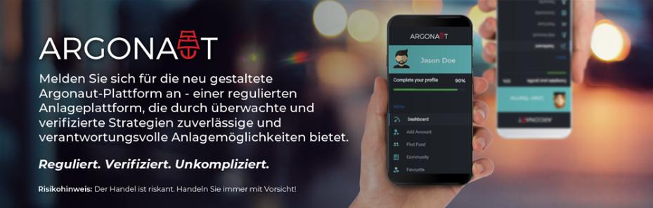 Handeln Sie auf einer regulierten Anlageplattform - Argonaut