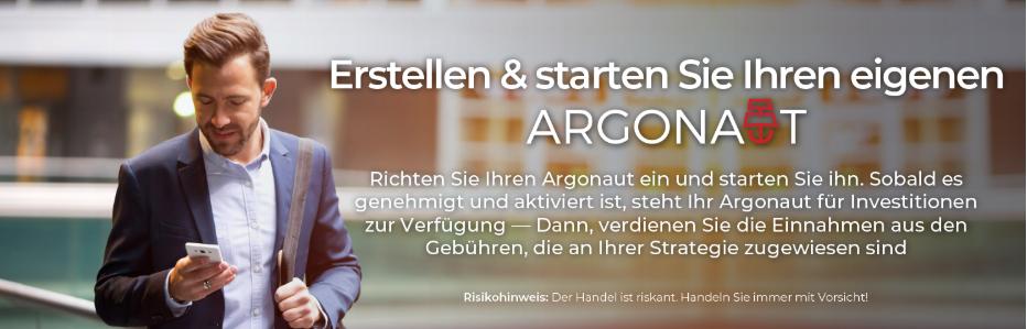 Starten Sie Ihren eigenen Argonaut