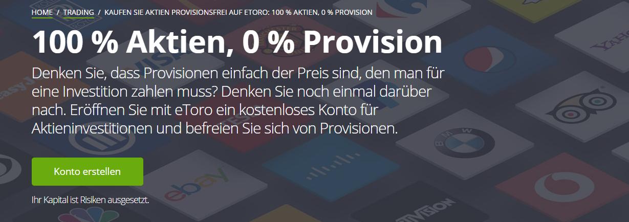 eToro Aktien handeln