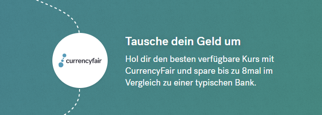 CurrencyFair Bewertung,