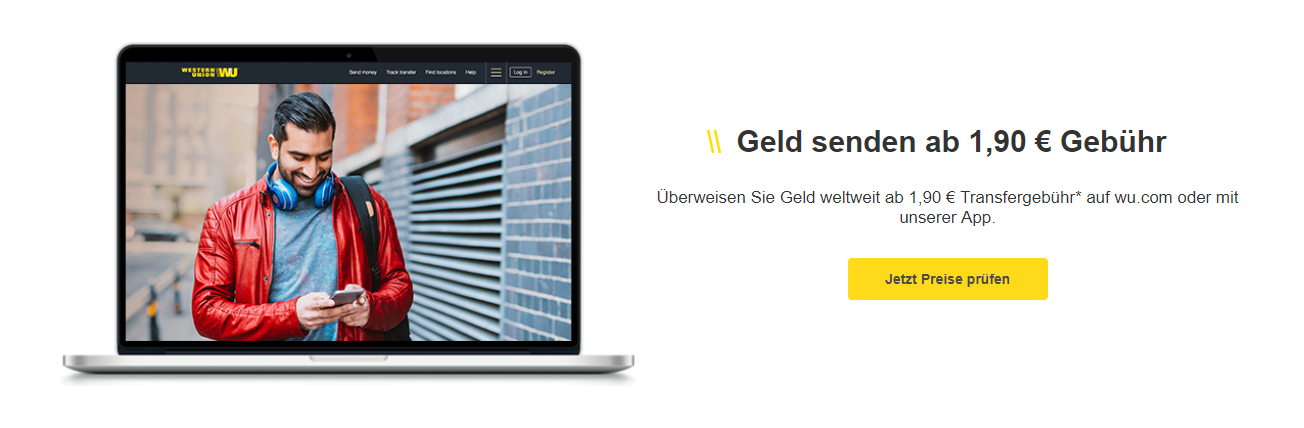 Western Union Gebühren