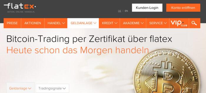 Bitcoin Flatex