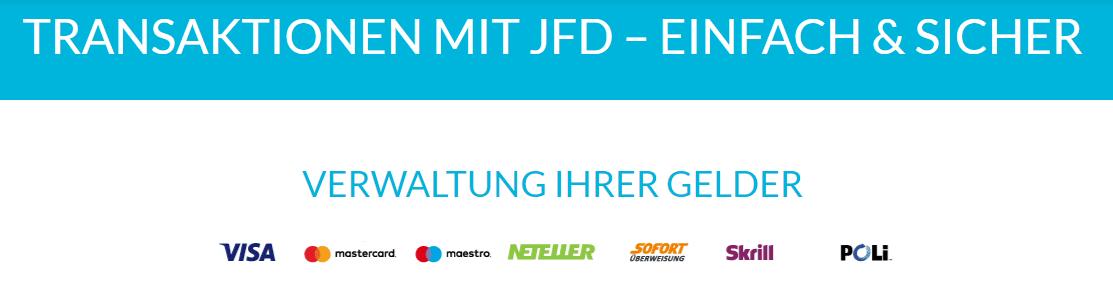 JFD Brokers Handel