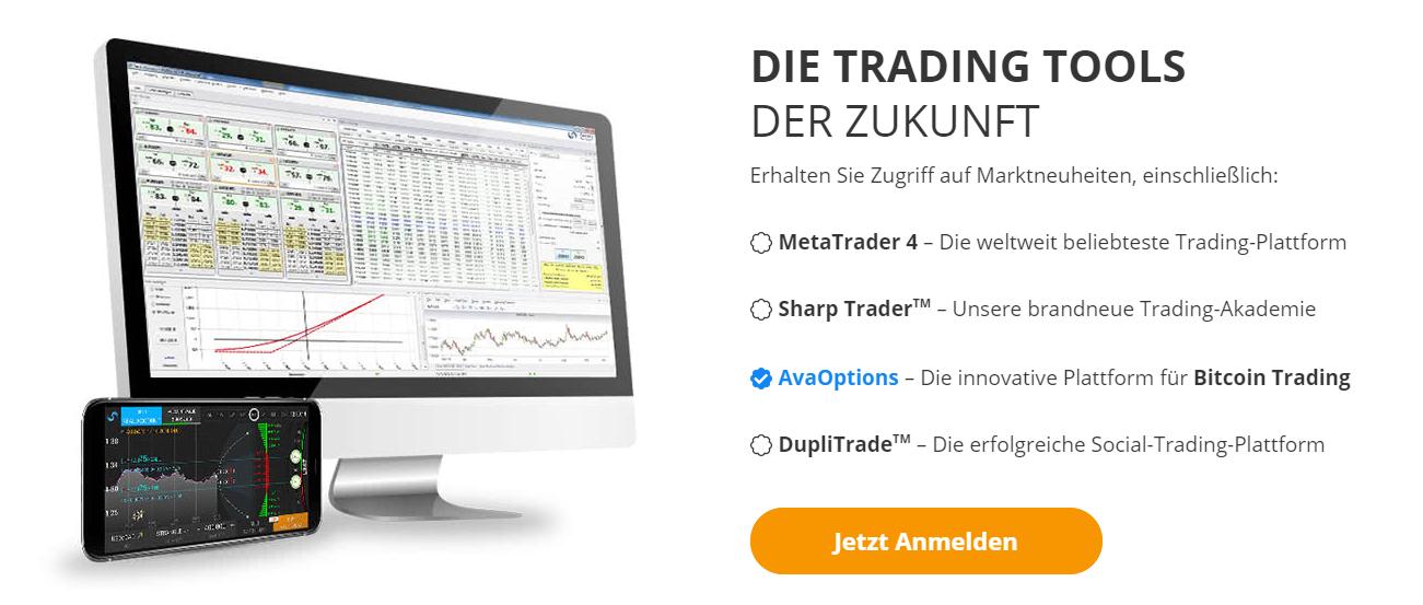 AvaTrade Handelsplattform