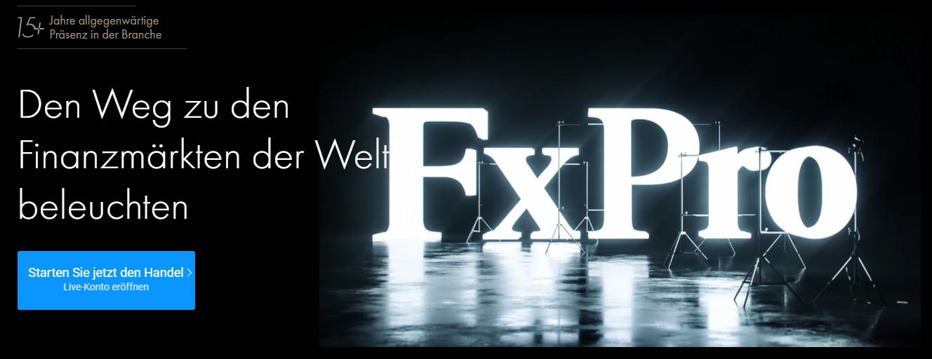 FxPro Testbericht