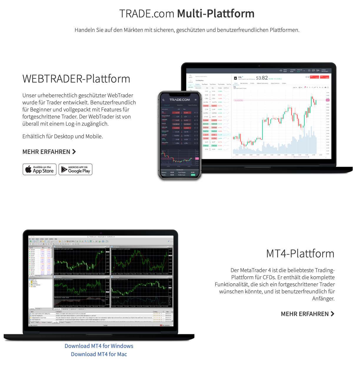 Trade.com Erfahrungen
