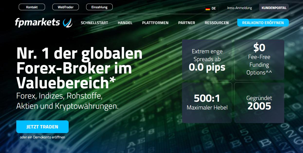 FP Markets Forex Erfahrungen