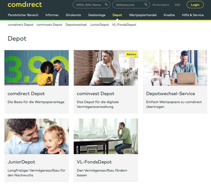 comdirect Depots